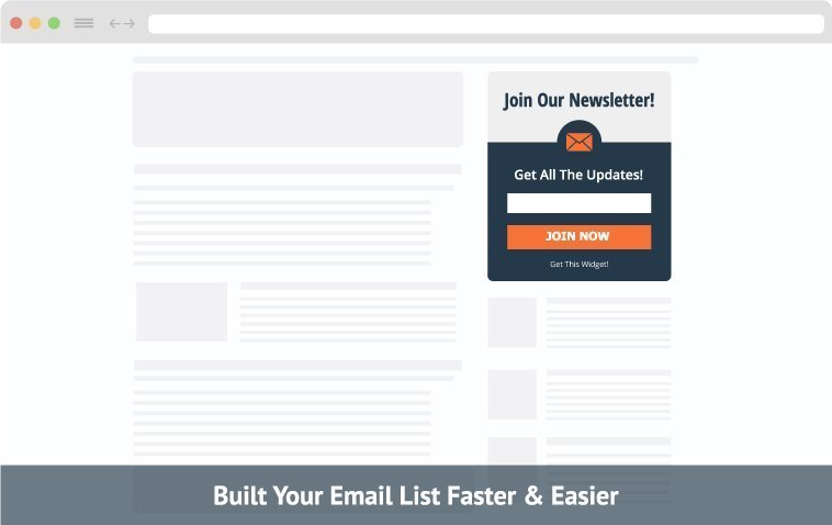 join our email list template