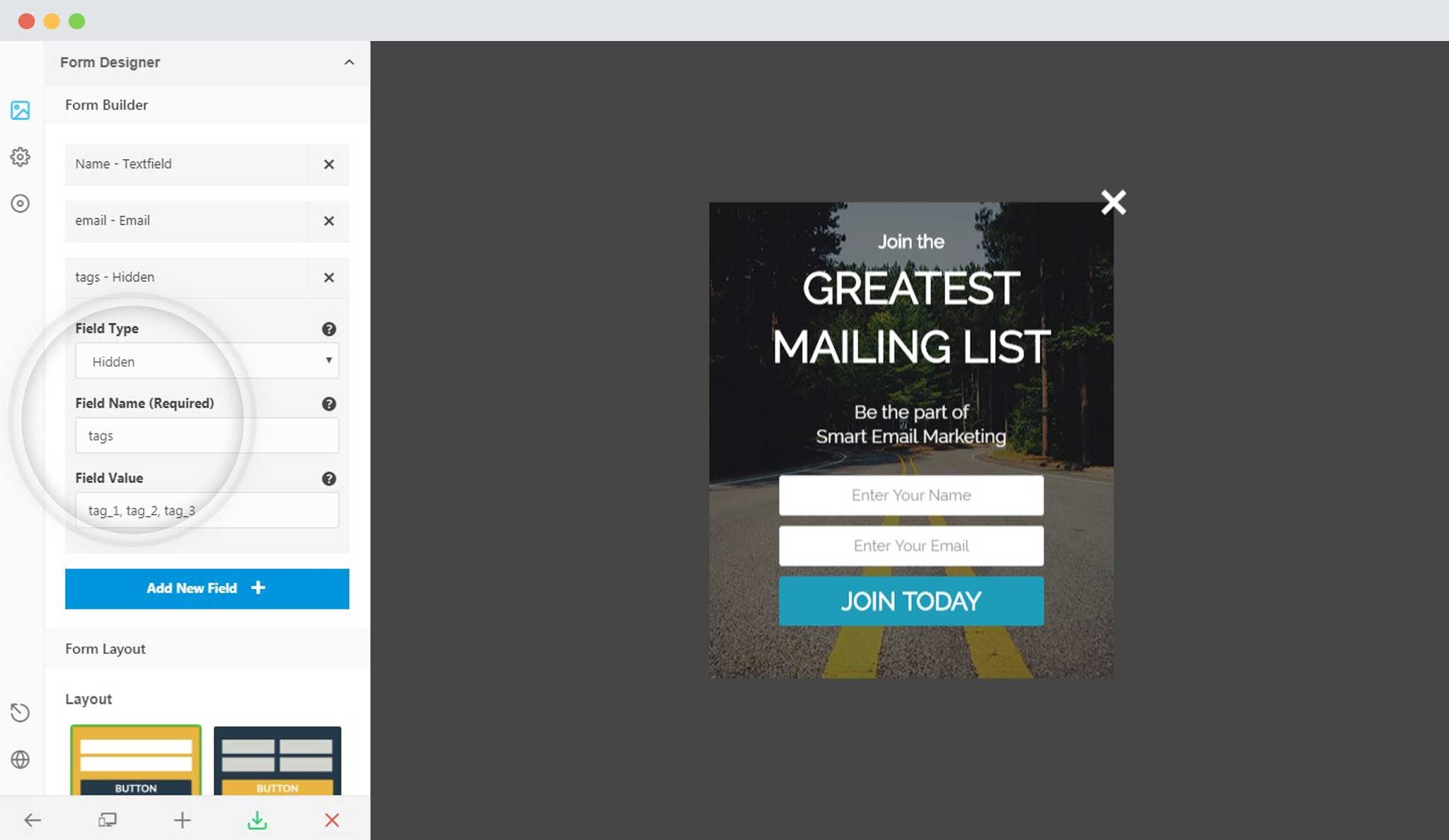 how to add mailchimp popup in wordpress