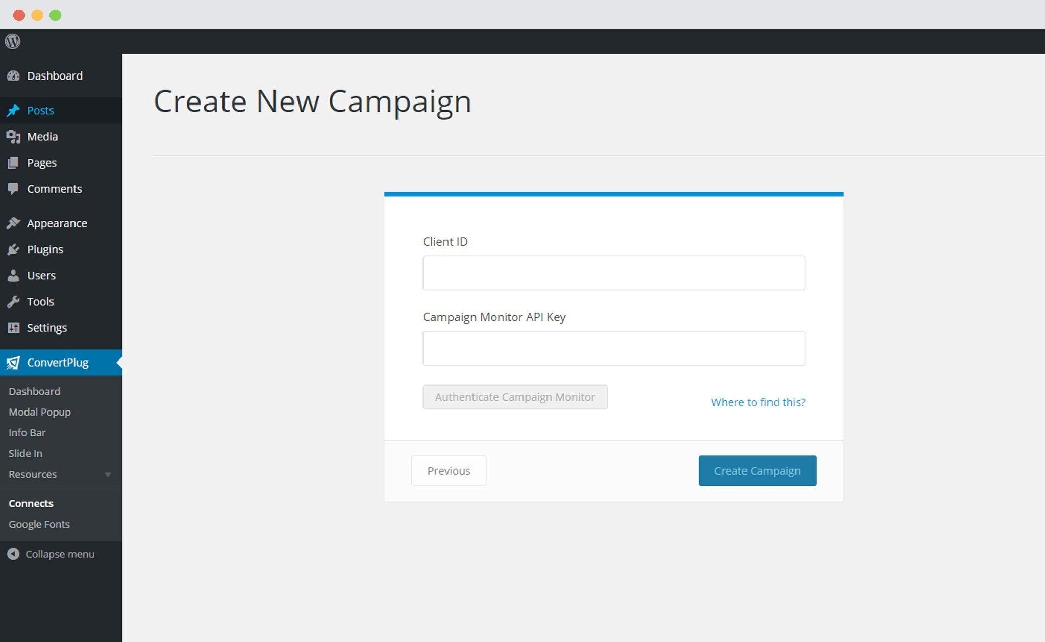 Campaign-Monitor-apikey