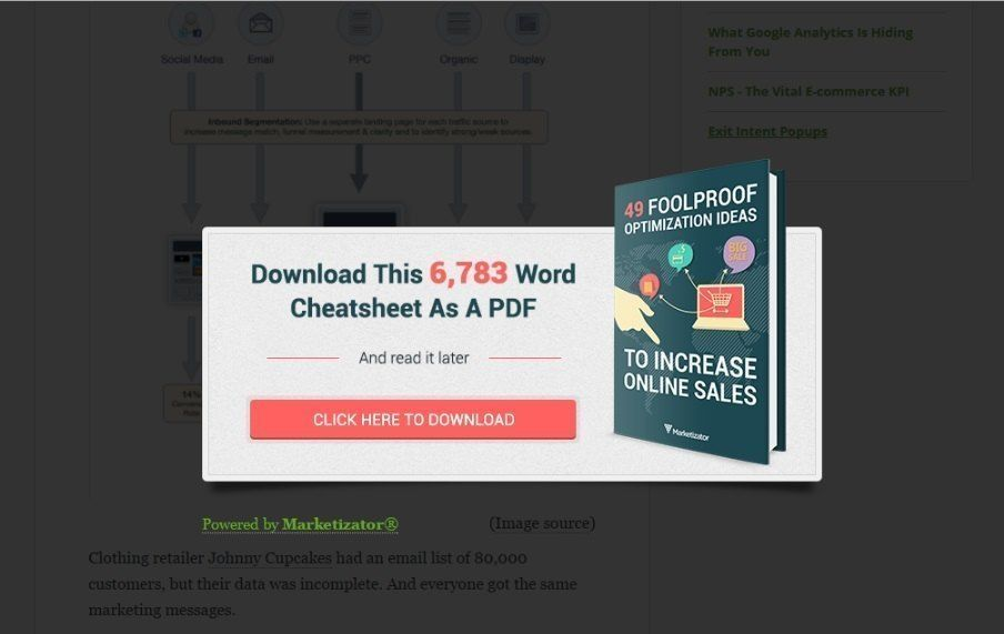 Re-engage visitors with a Free PDF_marketizator
