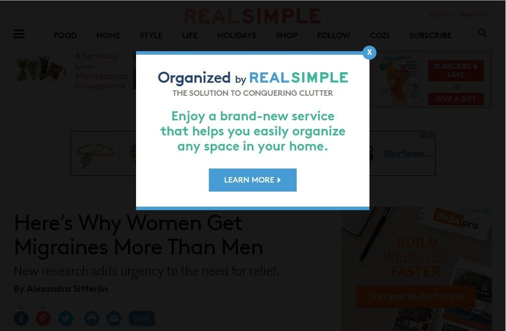 Introduce a new service to hold back visitors_realsimple